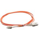 2m Мулти мод OM2, 50/125 оптичен пач кабел, LC/UPC to SC/UPC, Duplex