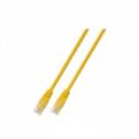 FTP кат.6 пач кабел с RJ45 конектори, HF, 5м, жълт