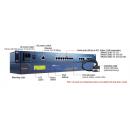 8 - портов индустриален медия конвертор, 10/100Mb Ethernet към RS-422/485 RJ-45, rackmountable