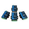 2 - портов индустриален медия конвертор, 10/100Mb Ethernet към RS-232, RJ45 8pin, 15KV ESD