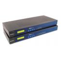 16 - портов индустриален медия конвертор, 10/100Mb Ethernet към RS-232/422/485, RJ-45 8pin, 15KV ESD