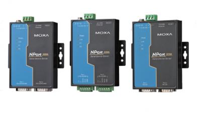 2 - портов индустриален медия конвертор, 10/100Mb Ethernet към RS-232, DB9 male, 15KV ESD, 0.5KV serial surge, 12~48VDC, 0~60°C