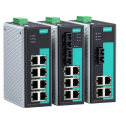 8 - портов индустриален, неуправляем комутатор /суич/ (6*10/100BaseT(X) порта и 2 сингъл мод 100BaseFX порта, SC конектор) Температурен диапазон: 0 to 60°C