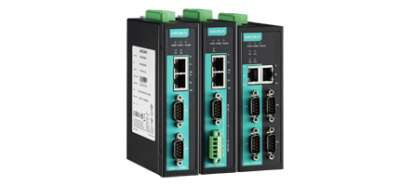 2 - портов индустриален медия конвертор, 10/100Mb BaseT(X) към RS-232/422/485, 1KV serial surge