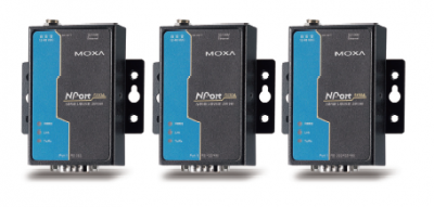 1 - портов индустриален медия конвертор, 10/100Mb Ethernet към RS-232, DB9 male, 15KV ESD, 0.5KV serial surge, 12~48VDC, 0~60°C
