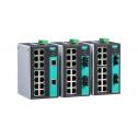 16 - портов индустриален, неуправляем комутатор /суич/ (16*10/100BaseT(X) порта). Температурен диапазон: 0 to 60°C