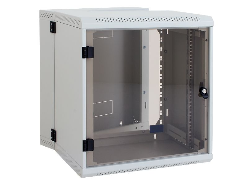 9u 19 Double Sectioned Wall Mounted Rack Dimentions Height 500mm Width 600mm Depth 295mm