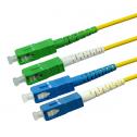 2m Сингъл мод 9/125 oптичен пач кабел, SC/APC to SC/UPC, Duplex