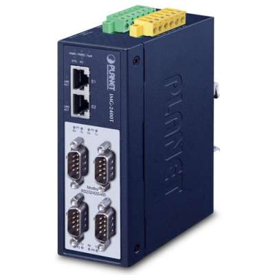 Industrial 4-Port RS232/RS422/RS485 Serial Device Server