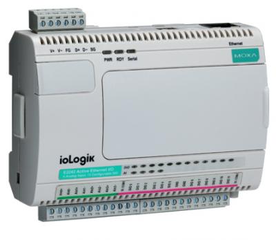 Индустриален комутатор /суич/, Smart Ethernet remote I/O with Click and Go, 12 DIs, 8 DOs