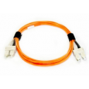 2m Мулти мод OM1, 62.5/125 оптичен пач кабел, SC/UPC to SC/UPC, Duplex