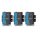 1 - портов индустриален медия конвертор, 10/100Mb Ethernet към RS-232/422/485, DB9 male, 15KV ESD, 0.5KV serial surge, 12~48VDC, 0~60°C