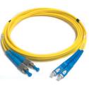 2m Сингъл мод 9/125 oптичен пач кабел, FC/PC to SC/PC, Duplex