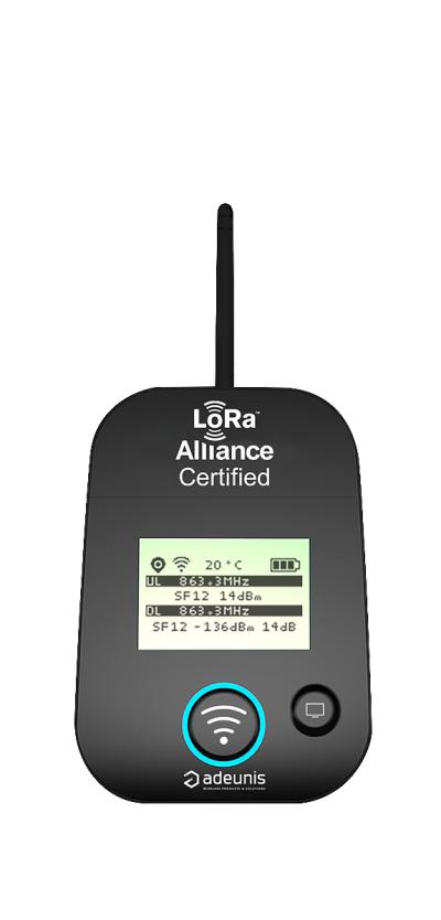FIELD TEST DEVICE for LoRaWAN™ EU863-870