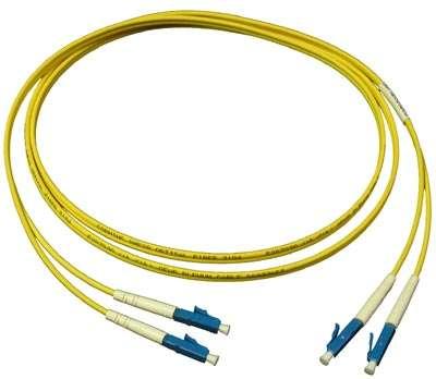 1m Сингъл мод 9/125 oптичен пач кабел, LC/UPC to LC /UPC, Duplex