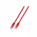 SSTP кат.6 пач кабел, LSZH, 0.5м, червен