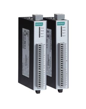 Индустриален комутатор /суич/, Remote Ethernet I/O мини контролер с 8AI, и 2 портов комутатор