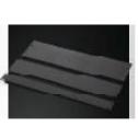 19' Запълващ панел, метален, 1U, черен