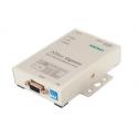 1 - портов индустриален медия конвертор, 10/100Mb Ethernet към RS-232/422/485, DB9 female, 15KV ESD