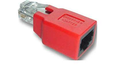 Адаптер RJ45 Unshielded Crossover  Plug/Jack, cat.5e