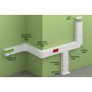 PVC кабелен канал PK 90x55 за модули 45х45