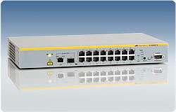 16 - портов управляем L2 стекируем комутатор /суич/ (16*10/100, 2комбо 100/1000 порта)
