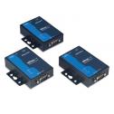 1 - портов индустриален медия конвертор, 10/100Mb Ethernet към RS-232, DB9 male, 15KV ESD, 9-30VDC