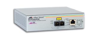 Медия конвертор, 10/100TX to100FX (SC), PoE (2 port Fast Ethernet Power over Ethernet switch)