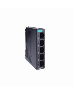 5 - портов индустриален, неуправляем комутатор /суич/ (5*10/100BaseT(X)хRJ45), монтаж на DIN шина, -10 до 60°C работна температура, пластмасов корпус