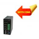 Управляем, индустриален Gigabit Ethernet PoE+ Switch (8) 10/100/1000Base-T PoE+ Ports + (4) 100/1000Base-X SFP Slots