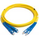 1m Сингъл мод  9/125 oптичен пач кабел, SC/UPC to SC/UPC, Duplex