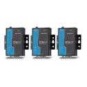 1 - портов индустриален медия конвертор, 10/100Mb Ethernet към RS-422/485, DB9 male, 15KV ESD, 0.5KV serial surge, 12~48VDC, 0~60°C