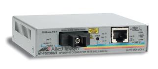 Медия конвертор, 10/100TX to 100FX BiDi, RX1310/TX1550,15km