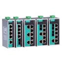 8 - портов индустриален, неуправляем комутатор /суич/ (8*10/100BaseT(X) ports); Entry-level; Работна температура от -10 до 60°C