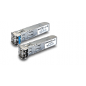 1 - порт Gigabit Ethernet SFP модул (Small Form Factor pluggable transceiver with 1000Base WDM,type A, LC connector, 10 km). Температурен диапазон: 0 to 60°C