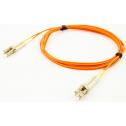 1m Мулти мод OM2, 50/125 оптичен пач кабел, LC/UPC to LC/UPC, Duplex
