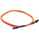 3m Мулти мод OM2, 50/125 оптичен пач кабел, MTRJ to MTRJ, Duplex