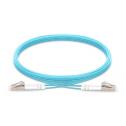 30m Мулти мод OM4, 50/125 оптичен пач кабелq LC/UPC to LC/UPC, Duplex