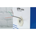 UTP кабел, кат. 5Е, 4Р 24AWG, PVC, solid, 305m