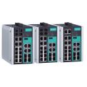 18 - портов индустриален, управляем Gigabit Ethernet комутатор /суич/ (14*10/100BaseT(X) порта и 4 combo 10/100/1000BaseT(X) или 100/1000BaseSFP порта). Температурен диапазон: -10 to 60°C