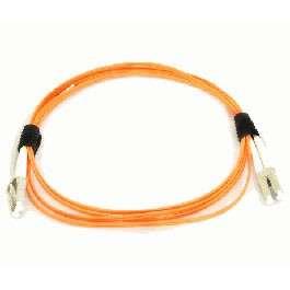 2m Мулти мод OM3, 50/125 оптичен пач кабел, LC/UPC to LC/UPC, Duplex