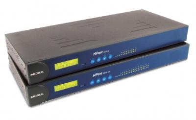 16 - портов индустриален медия конвертор, 10/100Mb Ethernet към RS-422/485, RJ-45 8pin, 15KV ESD