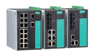 5 - портов индустриален, управляем комутатор /суич/ (5*10/100BaseTX), монтаж на DIN шина, 0-60 °C работна температура, 12 to 45 VDC захранване