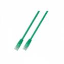 FTP кат.6 пач кабел с RJ45 конектори, PVC, 10м, зелен