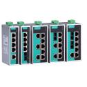 8 - портов индустриален, неуправляем комутатор /суич/ (6*10/100BaseT(X) и 2*100BaseFX мулти мод порта с SC конектори). Широк температурен диапазон:-40to75°C