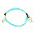 3m Мулти мод OM3, 50/125 оптичен пач кабел, LC/UPC to SC/UPC, Duplex