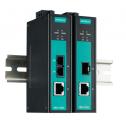 Индустриален Gigabit медия конвертор, SFP Slot. Температурен диапазон: -10 to 60°C