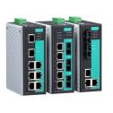 8 - портов индустриален, управляем комутатор /суич/ еntry-level (6*10/100BaseT(X) порта и 2 мулти мод 100BaseFX порта, SC конектор). Широк температурен диапазон: -40 to 75°C