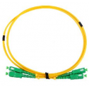 3m Сингъл мод 9/125 oптичен пач кабел, SC/APC to SC /APC, Duplex