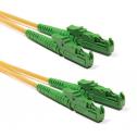 10m Сингъл мод 9/125 оптичен пач кабел, E2000/APC to E2000/APC, Duplex
